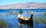 Lago Titicaca peruano